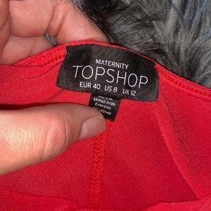 Topshop MATERNITY Dresses - 🔻Topshop Orange Dress